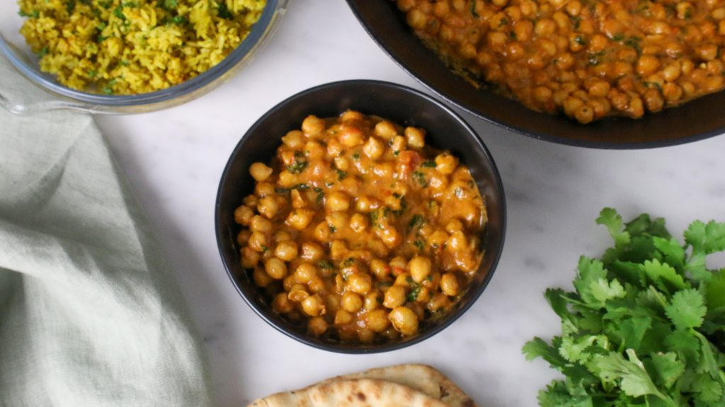 In Amma's Kitchen | Chickpea Curry